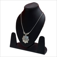 Ladies Silver Metal Necklace
