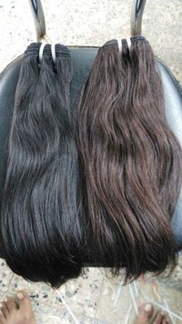 Straight Natural Black and Brown Hair