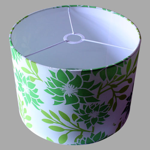 Floral Print Drum Lamp Shade