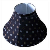 Printed Bell Shaped Lamp Shade