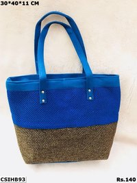 Colourful Jute Handbag