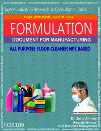 All Purpose Floor Cleaner NPS Based