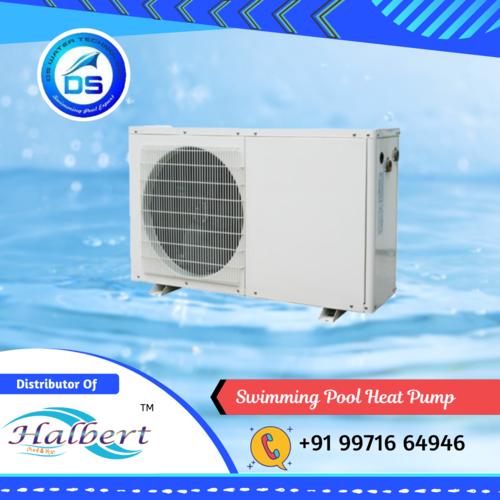 White Swimming Pool Heat Pump