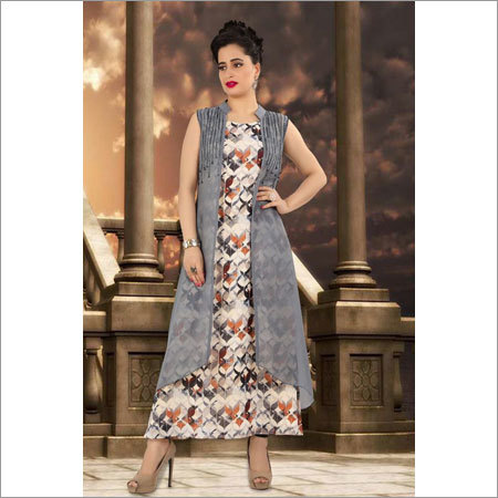 Ladies Linen Jacket Kurti Ladies Linen Jacket Kurti Manufacturer
