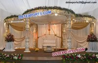 Wedding Crystal Mandap Set