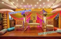 Wedding Mehndi Stage Decorations