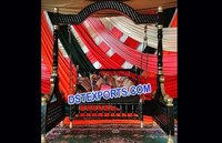 Muslim Nikah Black Gold Swing Jhula