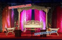 Muslim Wedding Heavy Carved Decor Swing Jhula
