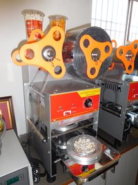 Plastic Glass Sealing Machine
