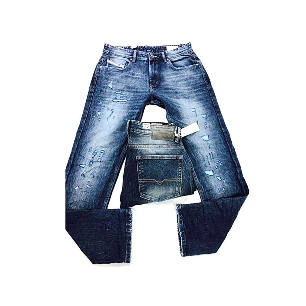 Mens Monkey Wash Jeans