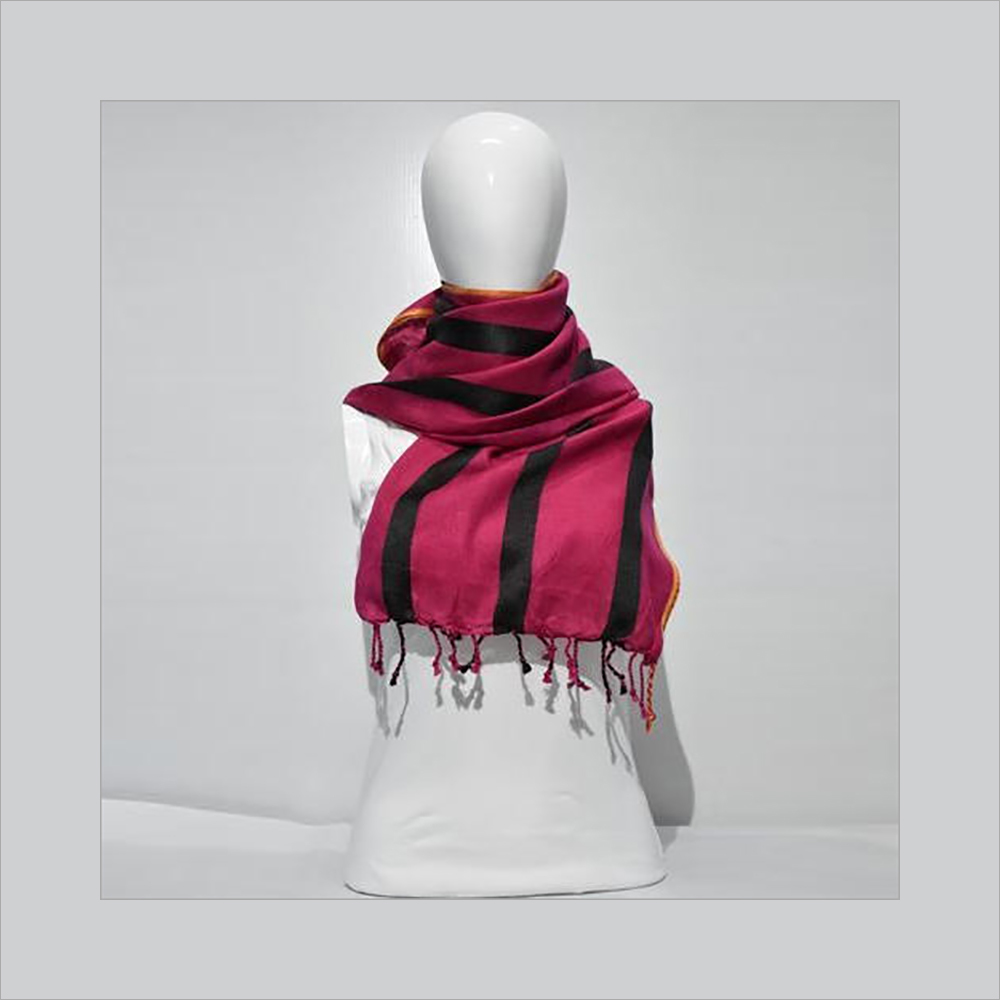 Ladies Striped Stole