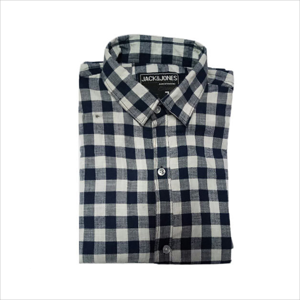 Mens Check Fancy Shirts