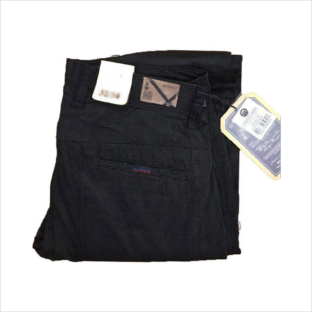 Mens Black Trousers