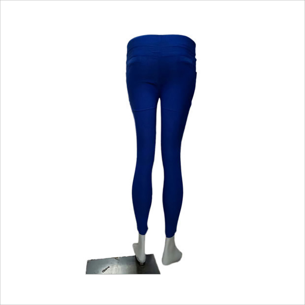 Ladies Blue Jeggings