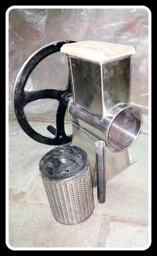 Semi Automatic Laddu Crusher Machine