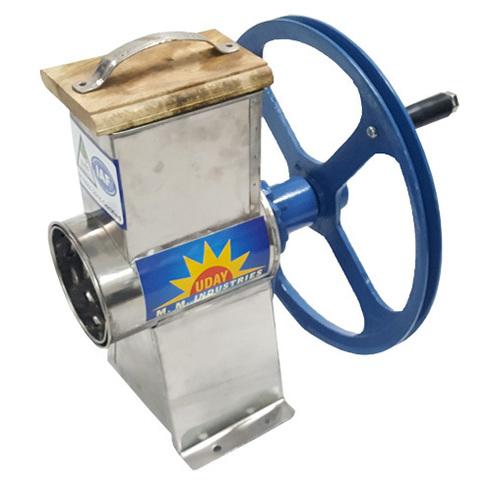 Hand Operated Laddu Crusher Machine