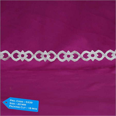Satin Cutwork Ribbon