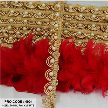 Golden Moti Lace