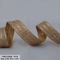 20mm Sarees Sequence Lace