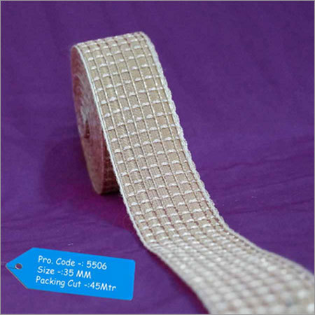 35mm Zari Border Lace