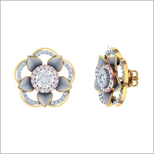 Ladies Diamond Designer Earrings