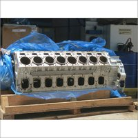 Diesel Marine Engine Block