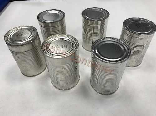 Round Tin Container
