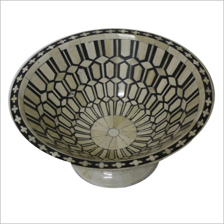 Bone Inlay Big Bowl