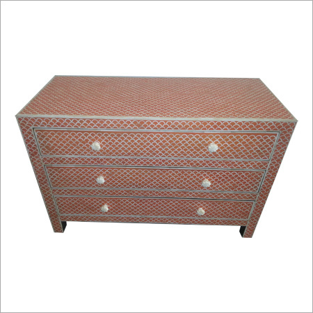 Designer Bone Inlay Dresser