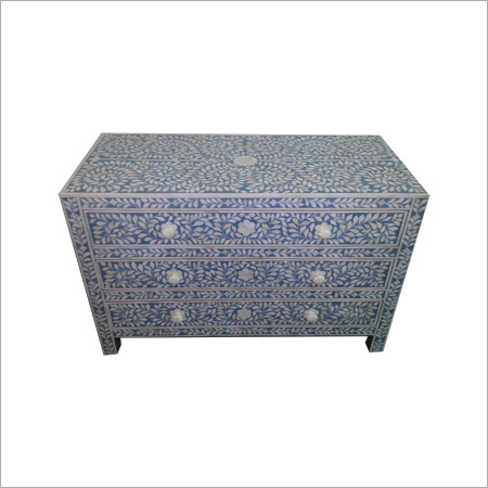 Decorative Bone Inlay Drawer