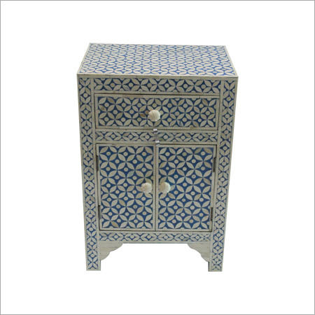Bone Inlay Drawer Chest