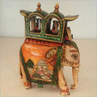 Bone Inlay Elephant