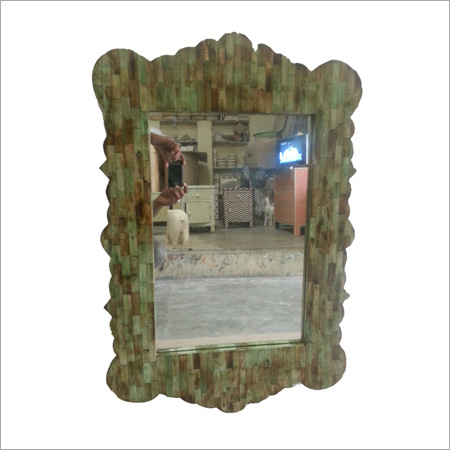 Bone Inlay Mirror