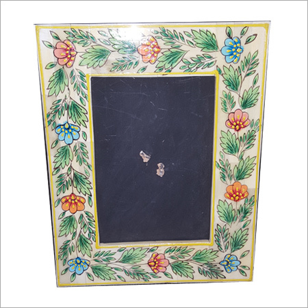 Flower Bone Inlay Mirror