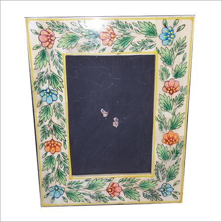 Flower Bone Inlay Mirror