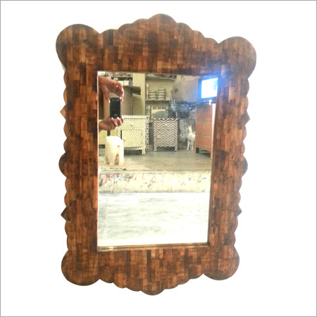Pure Wood Design Bone Inlay Mirror