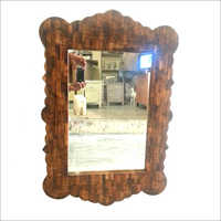 Pure Wood Design Bone Inlay Mirror