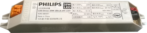 LED Philips 20w 280ma Led Driver
