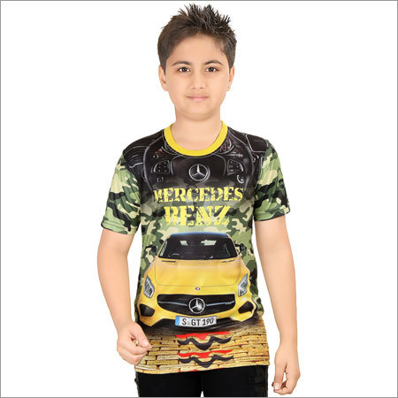 Boys Printed Cotton T-Shirt