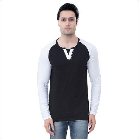 Mens Cotton Slim Fit T-Shirt