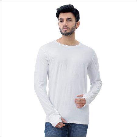Mens Cotton Thumb Hole T-Shirt