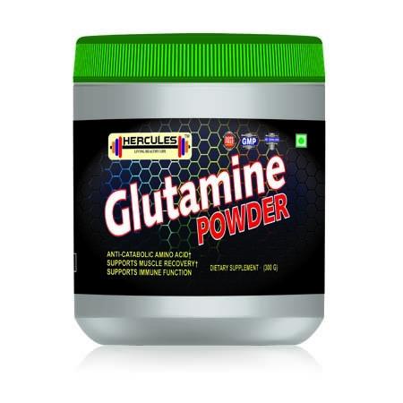 Hercules Glutamine Powder 300gms