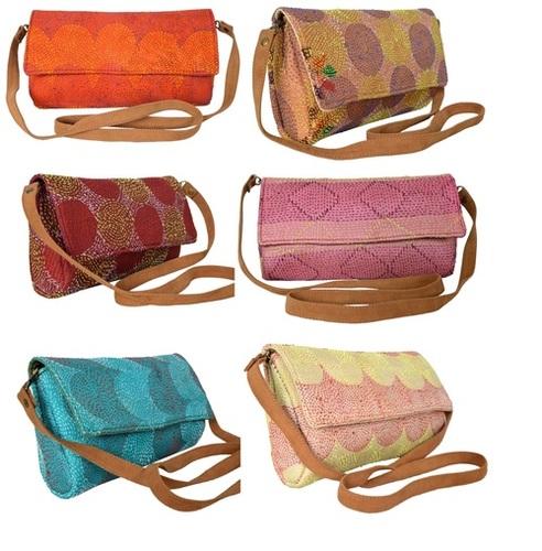 Designer Silk Kantha