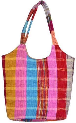 Vintage Rag Rug Dhurrie Tote Bag