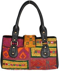 Vintage Banjara Fabric Hand Bag