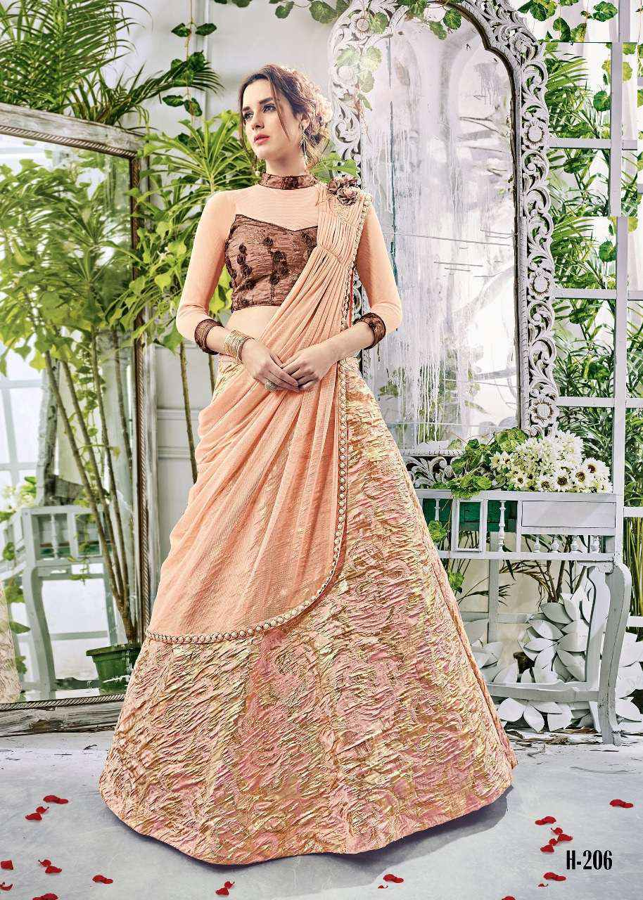 Hitansh 200 Series Bridal Lehenga Wholesale Online