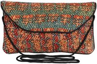 Vintage Cotton Kantha Clutch Bag