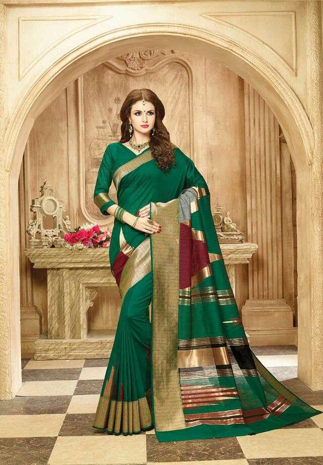 Silk weaves Designer sarees