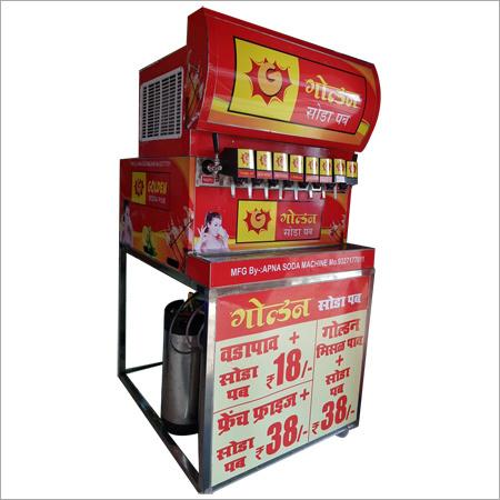 8 Flavor Soda Machine
