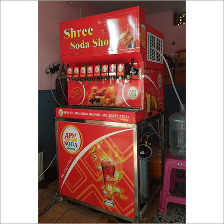 8 Flavor Soda Machine